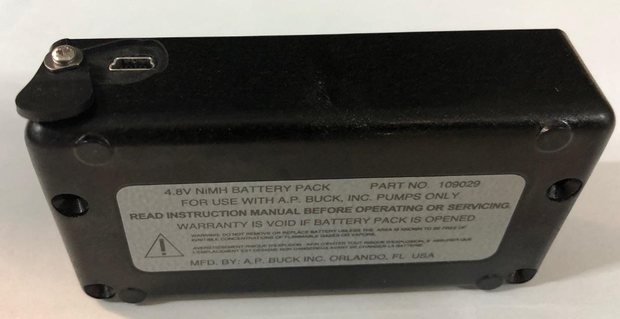 4.8V NiMH  Standard Battery Pack with USB Mini B jack for Libra/Elite pumps