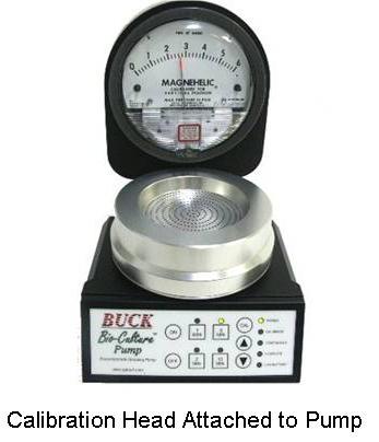 Bio-Culture Pump Calibration Head
